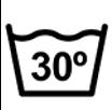 oznaka za masinsko pranje