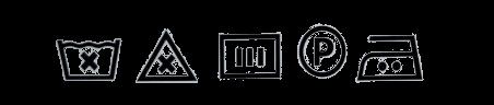 oznake za odrzavanje odece od svile